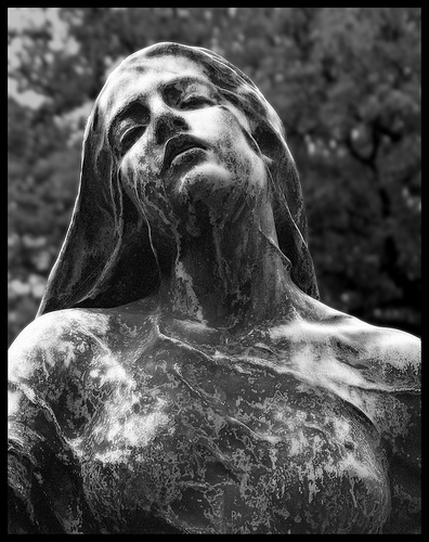 Morbidly Fascinating Cemetery Statues